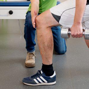 Behandeling van blessures bij Fysiotherapie Huiswaard Alkmaar